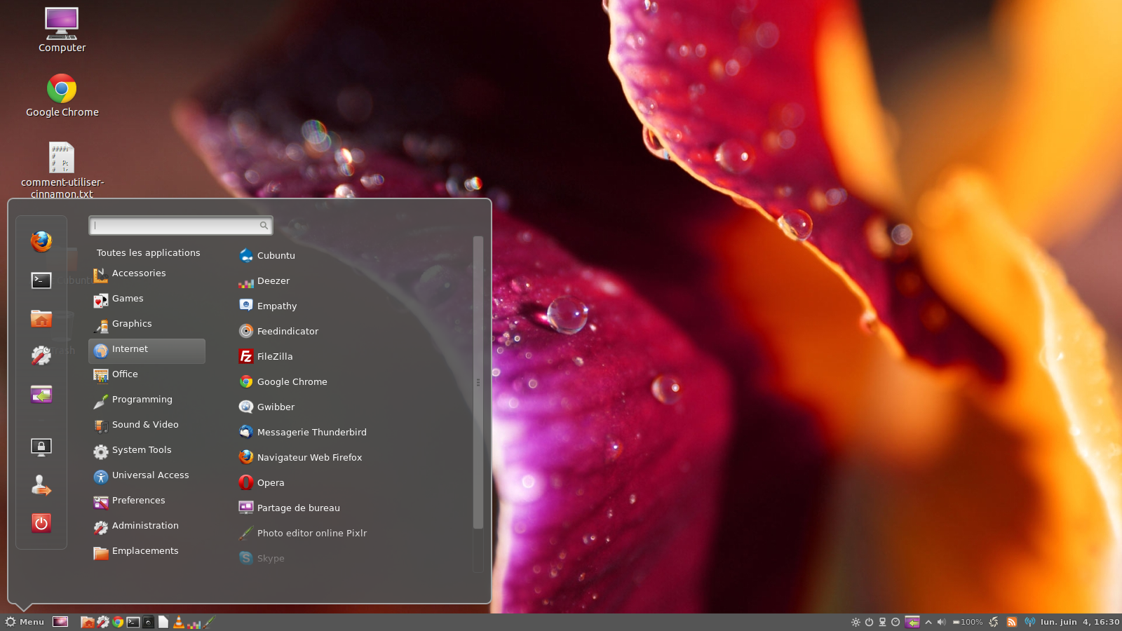 cubuntu: ubuntu + cinnamon + extra